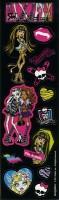 Monster High 2 Sticker Set Für Geschenktüten 8 Bögen