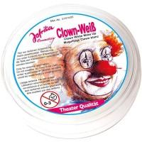 Weißes Clowns Make-Up