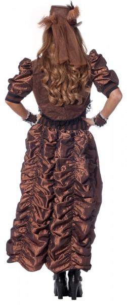 Disfraz retro steampunk para mujer