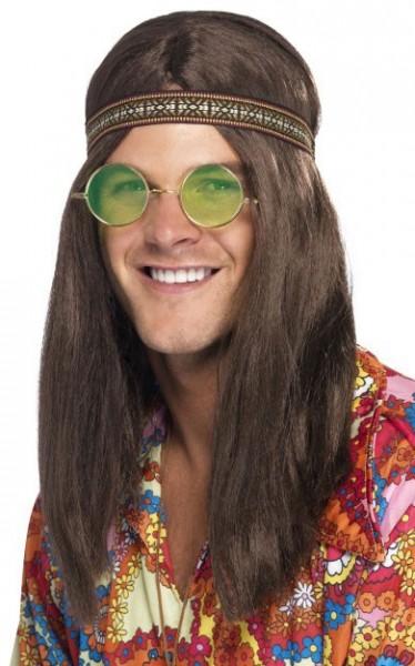 Ensemble de costume hippie des années 60 3 pièces