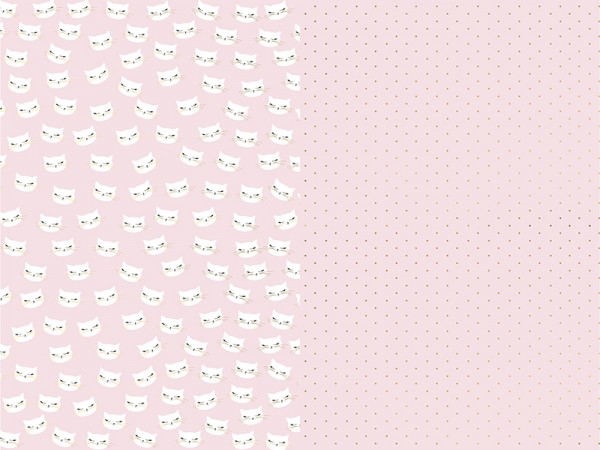 Cat Kiki wrapping paper set of 2