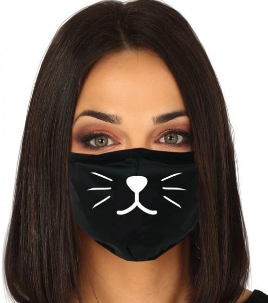 Masque nez bouche chat