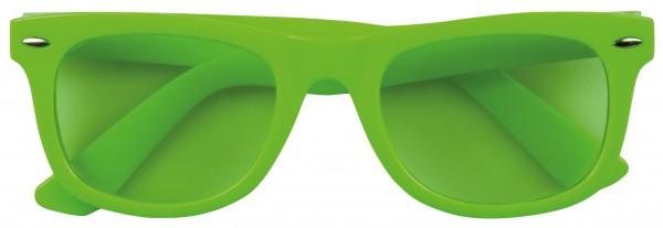 Neon Grüne Brille Unisex