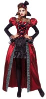 Vampirkönigin Victoria Damenkostüm