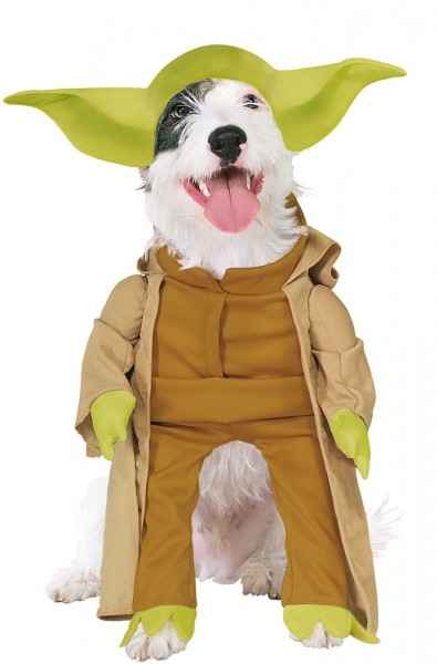 Star Wars Yoda Costume per cani