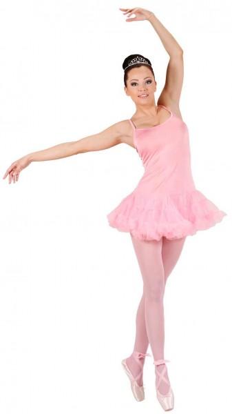 Klassisches Rosa Bellerina Damen Kleid