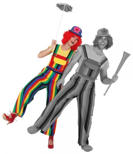 Clown Latzhose Für Damen