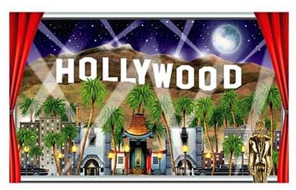 Hollywood Hills Poster 90cm x 1,57m