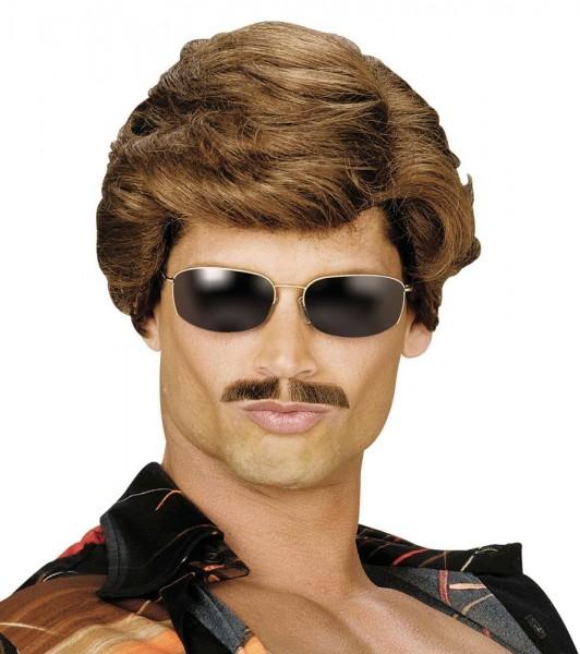 Perruque homme Sunny Boy des années 80