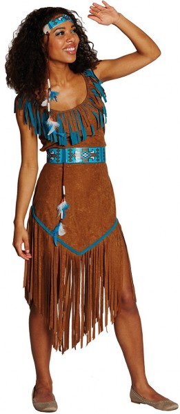 Blue Moon Indianerin Damenkostüm