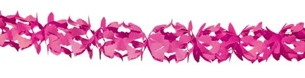 Papier-Girlande Hoku Rosa 6m