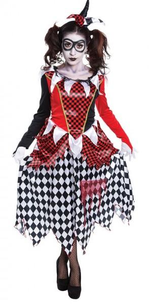 Harriet Horror Harlekin Kostüm