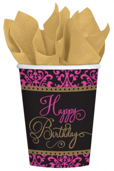 18 Fabulous Birthday Pappbecher 266ml