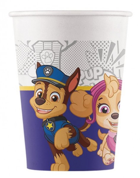 8 Paw Patrol Eco Becher 200ml