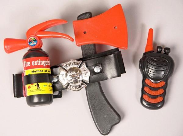 Feuerwehr Ausrüstung 4-teilig