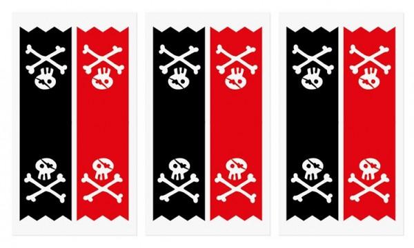 6 Südsee Piraten Geschenktüten 3