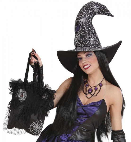 Black Witch Halloween Tasche