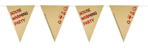 House Warming Party Wimpelketten 6m