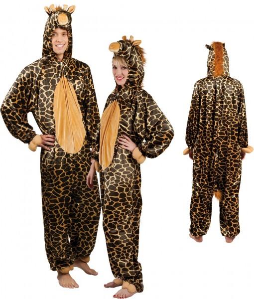 Flauschiger Giraffen Overall
