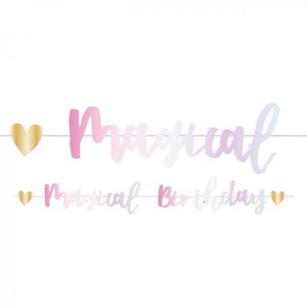 Magische Geburtstags Girlande 1,8m