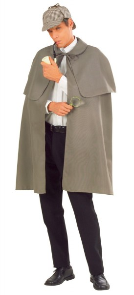 Gray detective cloak Sheldon