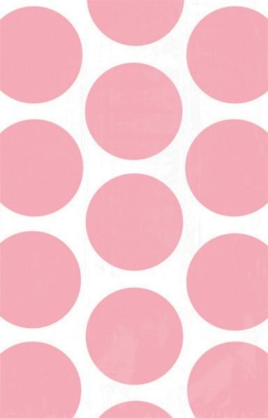 10 sachets cadeaux buffet de bonbons rose clair