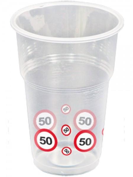 10 trafikskilte 50 kopper 350 ml