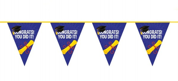 Finished the pennant chain 10m