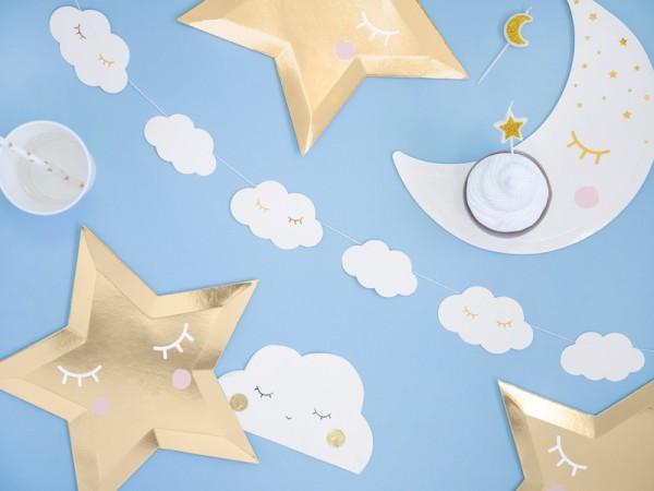 Sweet Dreams Wolken Girlande 1,45m