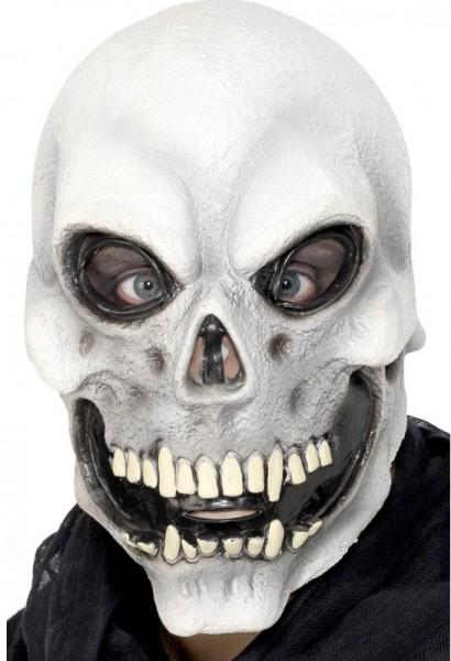 Maske Lachender Totenkopf