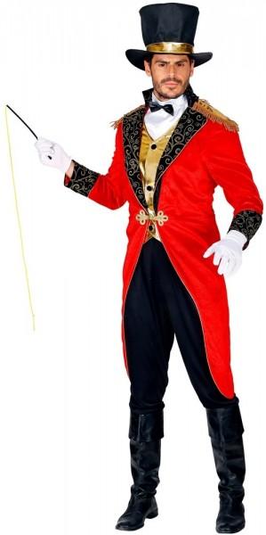 Circusregisseur herenkostuum Carlos