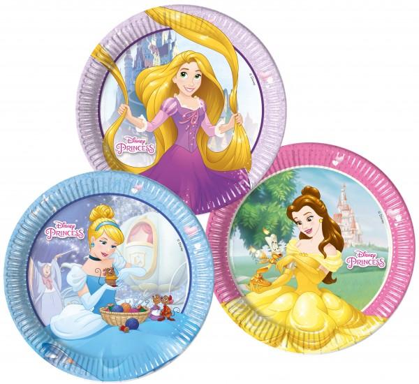 Princess Heart Strong 8 Pappteller 23cm 3 Designs