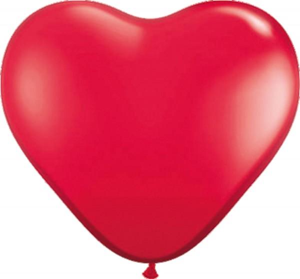 8 heart balloons Romeo 30cm