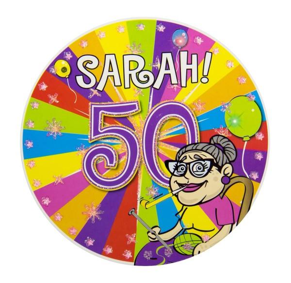 Botón LED Sarah Party 12cm