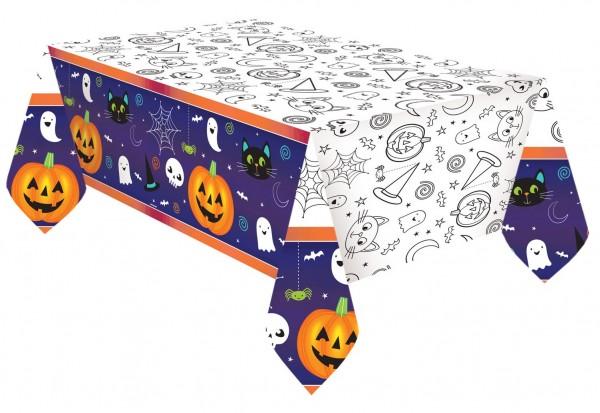 Nappe en papier Happy Halloween 2.6m