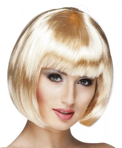 Blonde Bob Perücke Alysa