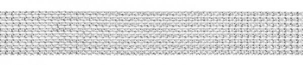 Ruban déco en optique strass 9m x 4cm
