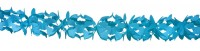 Papier-Girlande Hoku Blau 6m
