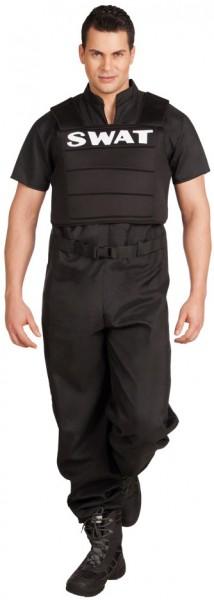 SWAT Officer Herrenkostüm