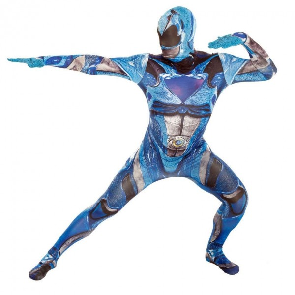 Blue Power Ranger Morphsuit Deluxe
