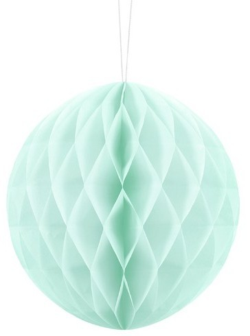 Honeycomb Ball Lumina Mint Turquoise 20cm