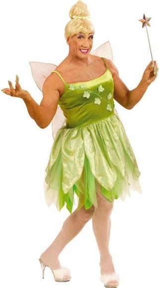 Disfraz de hada del bosque Wilma para hombre