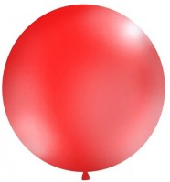 XXL Ballon Partygigant rot 1m