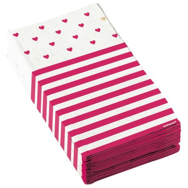 16 Little love napkins 33cm