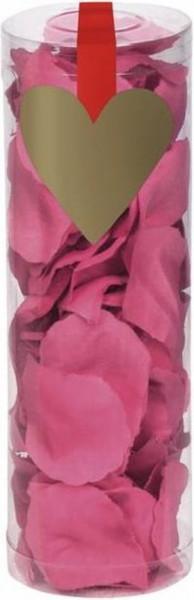 288 pink sprinkle rose petals