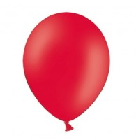 50 Partystar Luftballons rot 27cm