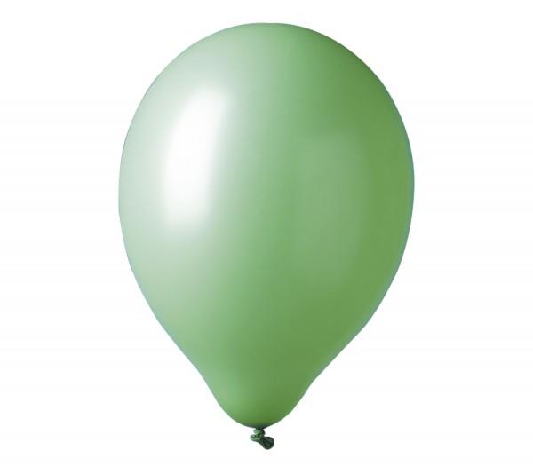 12 ballons de fête Madrid vert 30cm