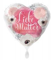 Liebe Mutter Herz Folienballon 43cm