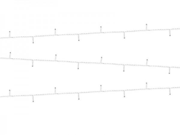 100 LED Kalt-Weiß Lichterkette 10m
