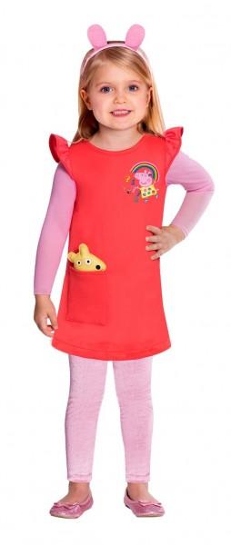 Peppa Wutz Kostüm für Mädchen